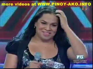 Pilipinas X - Factor - Osang (Drowning pool - Bodies & Shaggy -  Mr. Boombastic)